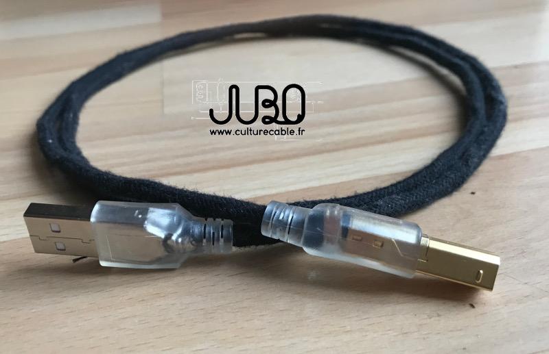 "Câble USB ""Cirrus"" Jubo :: culturecable.fr"