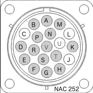Schéma brochage burndy Naim NAC 252