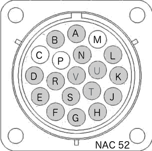 Schéma brochage burndy Naim NAC 52